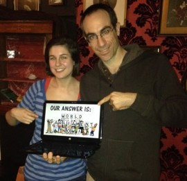 Becky Luff and Oded Gilad make their opinion clear: world parliament now