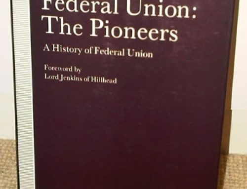 Federal Union: The Pioneers