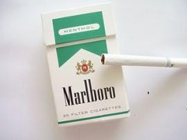 Marlboro Menthol Lite filtered cigarettes