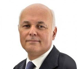 Iain Duncan Smith, defeated in court (picture Department for Work and Pensions)