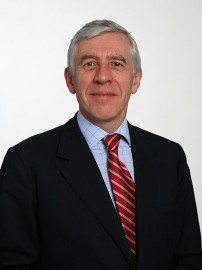 Jack Straw, man of action (picture Ministry of Justice)