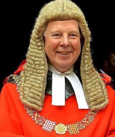 The Lord Chief Justice, baffled
